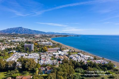 -Villacana and the Costa del Sol from the air