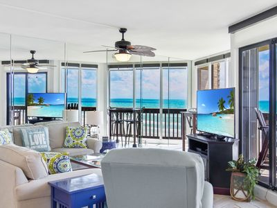 Photo for Sandpiper  #607: Beachfront 2 Bedroom 2 Bathroom With Spectacular Views and 24 Hour Management