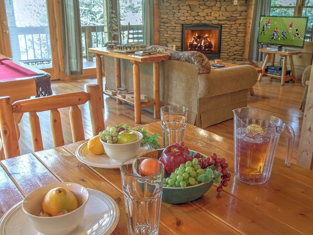 Enjoy the Calm Cool Nights of the Smokies at 2 Peas in a Pod