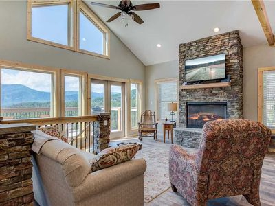 Photo for Hello Smokys, 2 Bedrooms, Sleeps 6, Hot Tub, Games, Views, Pool Access