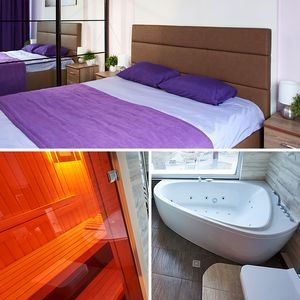 Photo for Apartment  Khreshatyk 54 with A Jacuzzi and a Sauna