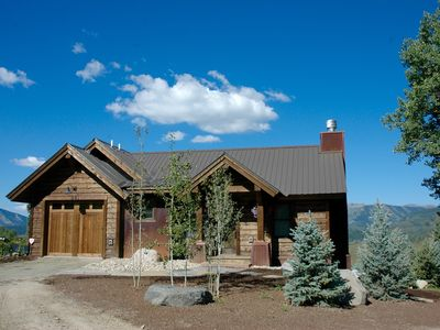 Photo for Luxury Mountain Cabin:  Luxury Guest House! Gorgeous Views