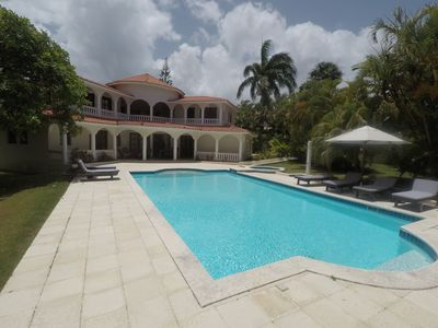 Photo for 5 BEDROOM CROWN VILLA- VIP 5 STAR VIP ALL INCLUSIVE