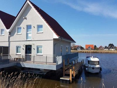 "Photo for The holiday home ""Seeperle Tjalk"" is your own little island on the water."