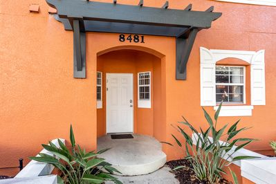 Townhome entrance