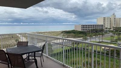 Photo for Beautiful water views from the wrap-around balcony - Corner unit -- Perfect place to watch the sunset