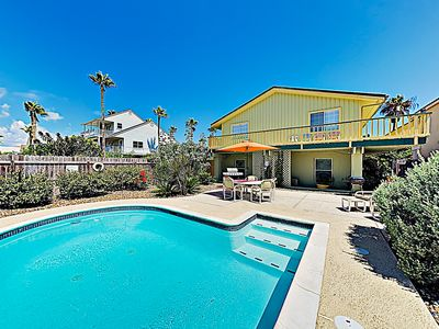 Photo for New Listing! Tropical Retreat w/ Heated Private Pool -- Walk to Beach