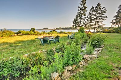 Experience Maine's scenic coastline from this Prospect Harbor vacation rental!