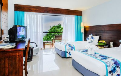 Photo for 400 metre to the beach, Deluxe twin room (D2)