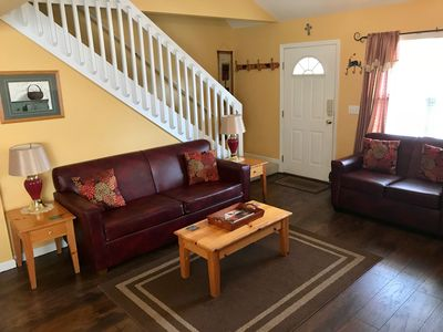 Country Meadow is clean and comfortable with plenty of seating for everyone.