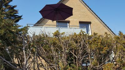 Photo for Sun drenched, near beach apartment, 3 bedrooms, balcony / terrace 2-5 pers., All year round