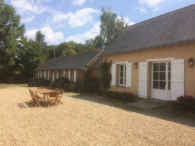 Photo for Cottage 7 people '(4 stars) comfortable in a private park in the countryside
