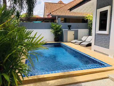 Photo for Villa 3 Bedroom with Private Pool near Walking St