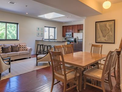 Photo for 3BR Duplex w/Roof Deck steps from Grove St PATH