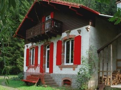 Photo for Le Châtillon in Belval - Vosges: the house in the forest.