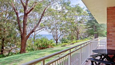 Photo for Fiddlers Green, 2/62 Magnus Street - ground floor unit walking distance to Nelson Bay