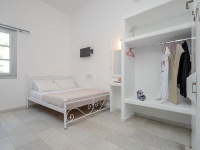 Photo for Depis suites Naxos town  studio for 5 ,50m from the beach