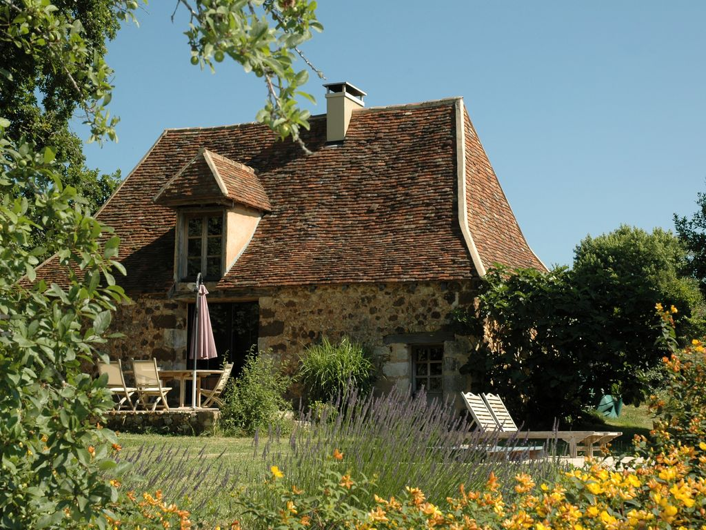 Decors Et Paysages Bergerac old renovated barn with private pool and garden -  rouffignac-saint-cernin-de-reilhac