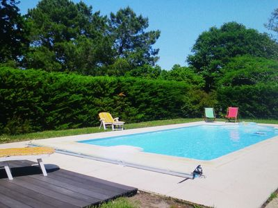 Photo for Penthouses Andernos les Bains with pool for 8 people