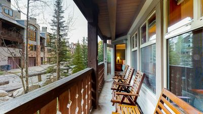 Photo for Convenient ski-in/out access, access to Club Solitude w/ shared pool, hot tub!