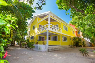 Casa Tortuga is the top floor plus private balcony and rooftop deck.