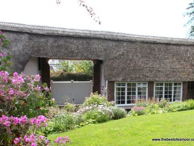 Photo for Priory Thatch Cottage, Dunster - Sleeps 2 - Exmoor National Park
