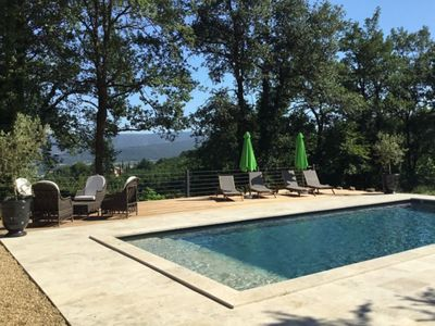 Photo for Luberon beautiful villa with private pool and free wifi
