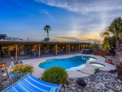 Photo for Large, dog-friendly Tucson home w/ a private pool, two hot tubs, & amazing views