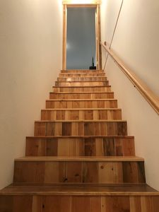 stairs up from front door