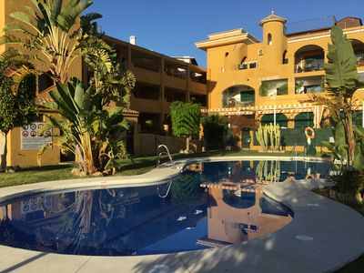 Photo for Apartment in Benalmadena Costa - Walking Distance to Beaches and Restaurants.