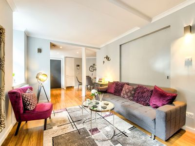 Photo for Grassmarket 3 Bedroom Apt - Perfect Old Town Location!