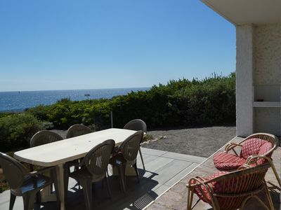 Photo for FULL SOUTH APARTMENT - FULL FOOT - SUPERB SEA VIEW - WILD SIDE