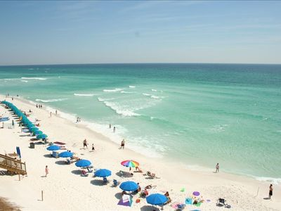 Photo for Exclusive Crystal Dunes Gulf-Front Condominium **Snowbirds Wanted 2019**