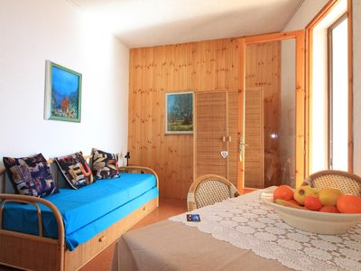 Photo for Archetti  apartment in Leuca with WiFi, air conditioning, private parking & balcony.