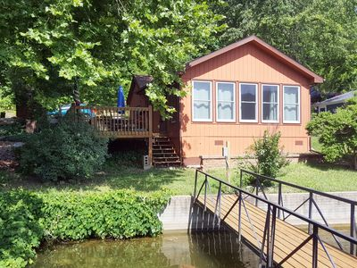 Photo for Blue Gill is Lake Front with a Private Dock and Pet Friendly