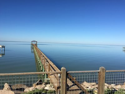 Photo for Copano Bayfront Home w 385' private pier