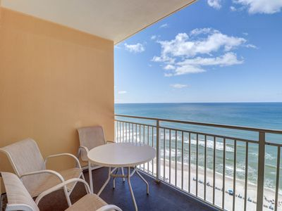 Photo for 11th floor condo w/ stunning Gulf views, a shared pool, & fitness center