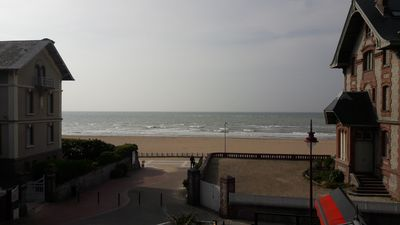 Photo for RARE in HOULGATE Apartment 3 rooms With TERRACE SEA VIEW