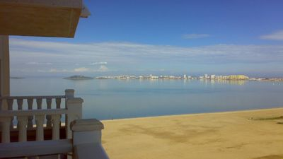 Photo for Playa Paraiso  2nd floor beach apartment,lift, pools, garage, free WiFi and A/C