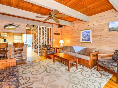 Photo for Charming, Stylish 3 Bedroom Oceanfront Townhouse with Free WiFi, a Shed, and Private Stretch of Sand is Perfect for Kids and Located in Midtown!