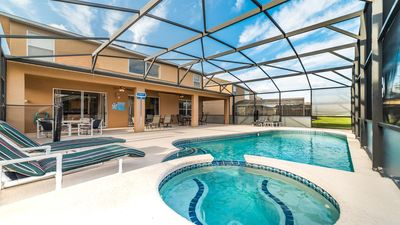 Photo for Affordable Family Relaxing Home- Pool, Spa, Great Location, Spacious