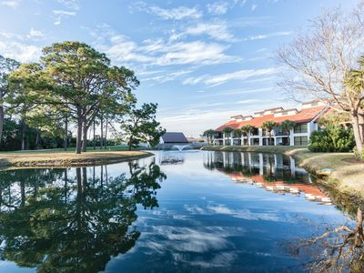 Photo for 2BR Golf Getaway at Edgewater Resort w/ 11 Pools, Hot Tubs & Adventure Park