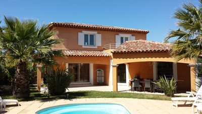 Photo for Saint Cyr / Sea Beach Lecques, villa with pool, air conditioning, shops.
