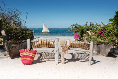 Imagine you relax with this breathtaking view from our private beach