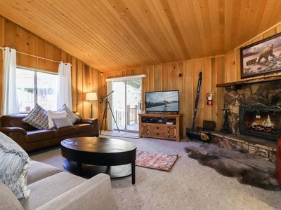 Photo for Deer Canyon Retreat: Close to Bear Mountain! Outdoor Hot Tub! Foosball Table! Charcoal BBQ!