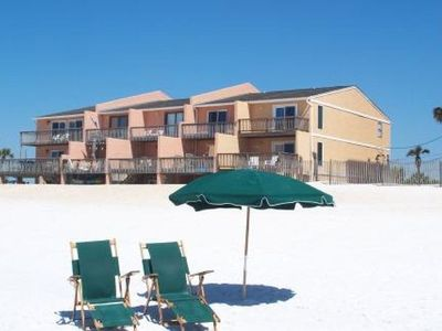 Photo for 3BR/3.5BA beachfront townhome!  (5 night minimum stay, year round)