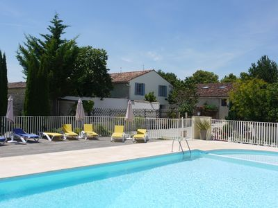 Photo for LES ECURIES - LES GRANGES Gites with 2 outdoor pools, restaurant,squash, gym...