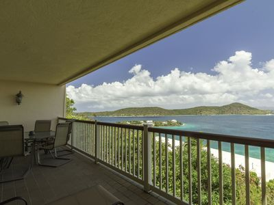Hilltop views, wrap around balcony. Lower $ avail. for longer stays. D18