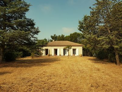 Photo for Stone house in the middle of a park of 3 hectares between Montpellier and Nimes