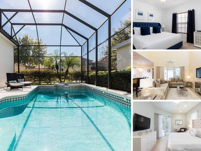 Photo for Southwest facing Villa featuring Games Room, Kids Bedrooms, Private Pool